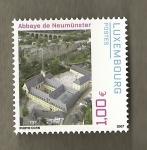 Sellos del Mundo : Europa : Luxemburgo : Abadía de Neumünster