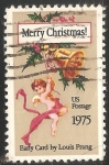 Stamps United States -  Angeles de Navidad