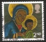 Sellos de Europa - Reino Unido -  La Virgen y el Niño