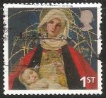 Stamps United Kingdom -  La Virgen y el Niño