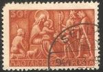 Stamps Hungary -  Adoracion de los Reyes Magos