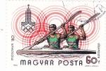 Stamps Hungary -  Olimpiada Moscú-80