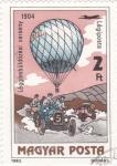 Stamps : Europe : Hungary :  globo aerostático
