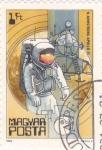 Sellos de Europa - Hungría -  aeronautica- Armstrong-Apolo II