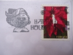 Stamps United States -  Luces de Navidad 2013-forever.