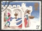 Stamps United Kingdom -  Reyes Magos