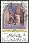 Stamps Nicaragua -  Semana Santa Via Crucis