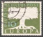 Sellos de Europa - Alemania -  Europa arbol