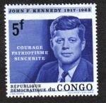 Stamps Democratic Republic of the Congo -  Memorial Kennedy