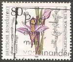 Stamps Germany -  Orquidea