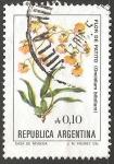 Sellos del Mundo : America : Argentina : Flor de patito