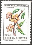 Stamps Argentina -  Guaran amarillo