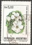 Sellos de America - Argentina -  Flor malvinense