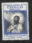 Stamps Democratic Republic of the Congo -  Franciscus Xavier, Congo Belga