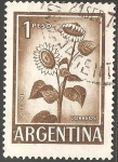 Sellos de America - Argentina -  Girasol