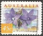 Sellos de Oceania - Australia -  Wahlenbergia Stricta