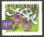 Sellos del Mundo : Oceania : Australia : Orquidea azul