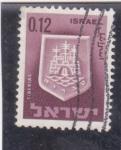 Stamps : Asia : Israel :  escudo de Tiberias