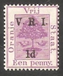 Stamps : Africa : South_Africa :  Ocupación británica