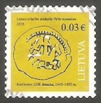 Stamps : Europe : Lithuania :  Moneda antigua