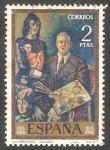 Sellos de Europa - España -  2078 - Autorretrato, de Solana