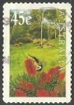 Stamps Australia -  Flores en el jardin