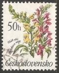 Sellos de Europa - Checoslovaquia -  Flores