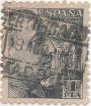 Stamps Spain -  Y & T Nº 672