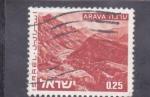 Stamps : Asia : Israel :  panorámica de Arava