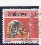 Stamps Zimbabwe -  artesanía