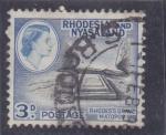 Sellos de Africa - Zimbabwe -  Isabel II