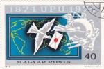 Sellos de Europa - Hungría -  100 anivers. UPU
