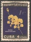 Sellos de America - Cuba -  Orquidea