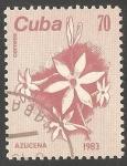 Sellos de America - Cuba -  Azucena