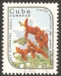 Sellos de America - Cuba -  Tecomaria capensis