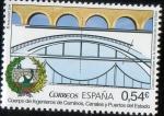 Sellos de Europa - España -  4893- Cuerpos Generales de la Administración del Estado.Cuerpo de Ingenieros cami. ,canales y puerto