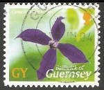 Stamps United Kingdom -   Clematis Harlow Carr