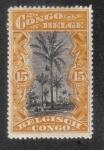 Sellos de Africa - República Democrática del Congo -  Cocoteros, Congo Belga