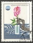 Sellos de Europa - Hungría -  Flor