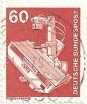 Sellos de Europa - Alemania -  RFA. INDÚSTRIA Y TECNOLOGIA. MÁQUINA DE RAYOS X. YVERT DE 833