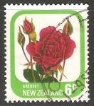 Sellos del Mundo : Oceania : Nueva_Zelanda : Rose