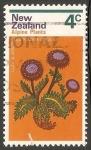 Sellos de Oceania - Nueva Zelanda -  Planta alpina