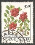 Sellos del Mundo : Europa : Noruega : Arándano rojo