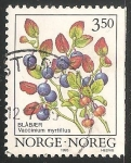 Sellos del Mundo : Europa : Noruega : arándano