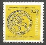 Sellos de Europa - Lituania -  Moneda antigua