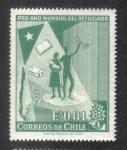 Sellos de America - Chile -  Año Mundial de los Refugiados