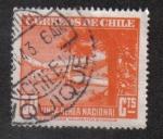 Sellos de America - Chile -  Correo Aereo