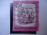 Stamps Austria -  festung Hohensalzburg.