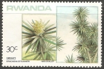 Sellos de Africa - Rwanda -  Tronco del Brasil.