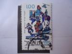 Stamps Israel -  Policia de Israel. Actividades.